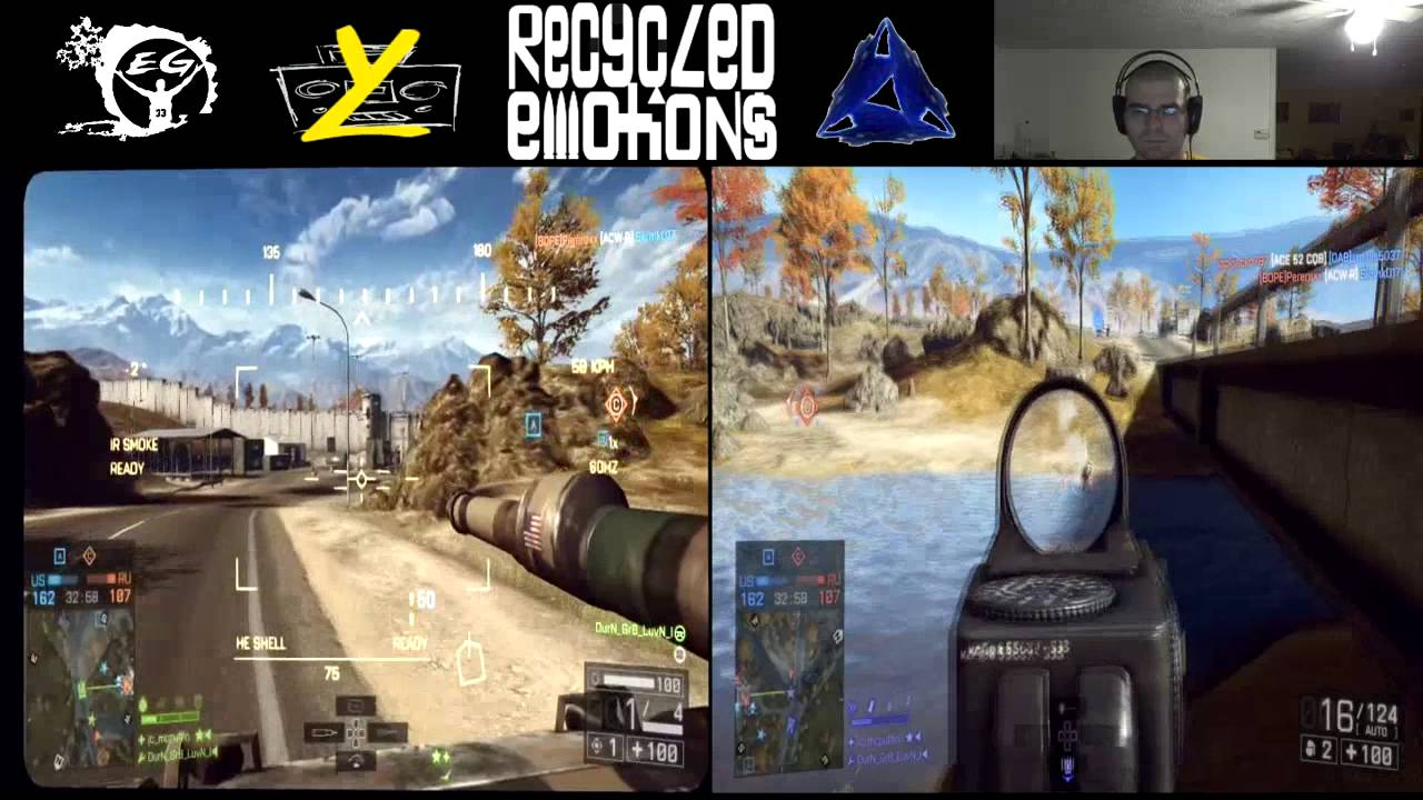 Battlefield 4 Split Screen Highlights 2 Youtube