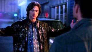 Supernatural 7X14 Dean Laughs at Sam