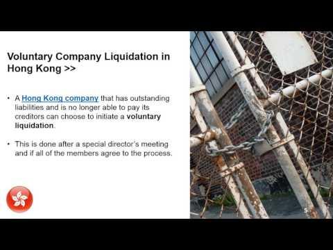 Company Liquidation in Hong Kong