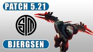 TSM Bjergsen | Zed vs Viktor | Mid | October 31st, 2015 | Season 5 | Patch 5.21