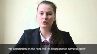 How To MUN | No Commotion | UWED MUN 2016