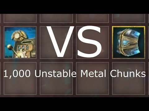 Master VS Copper Salvage Kit 1,000 Unstable Metal Chunks  |  Guild Wars 2