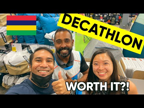 DECATHLON MAURITIUS BAGATELLE IS FINALLY OPEN! Is It worth it???