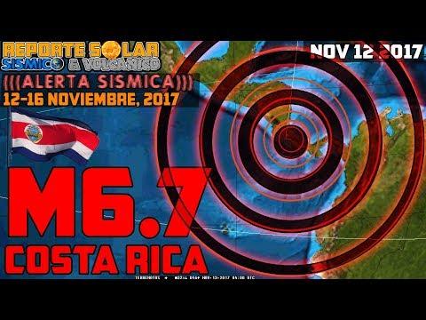 TERREMOTO FUERTE M6.7 COSTA RICA (((ALERTA SÍSMICA))) ALEX BACKMAN