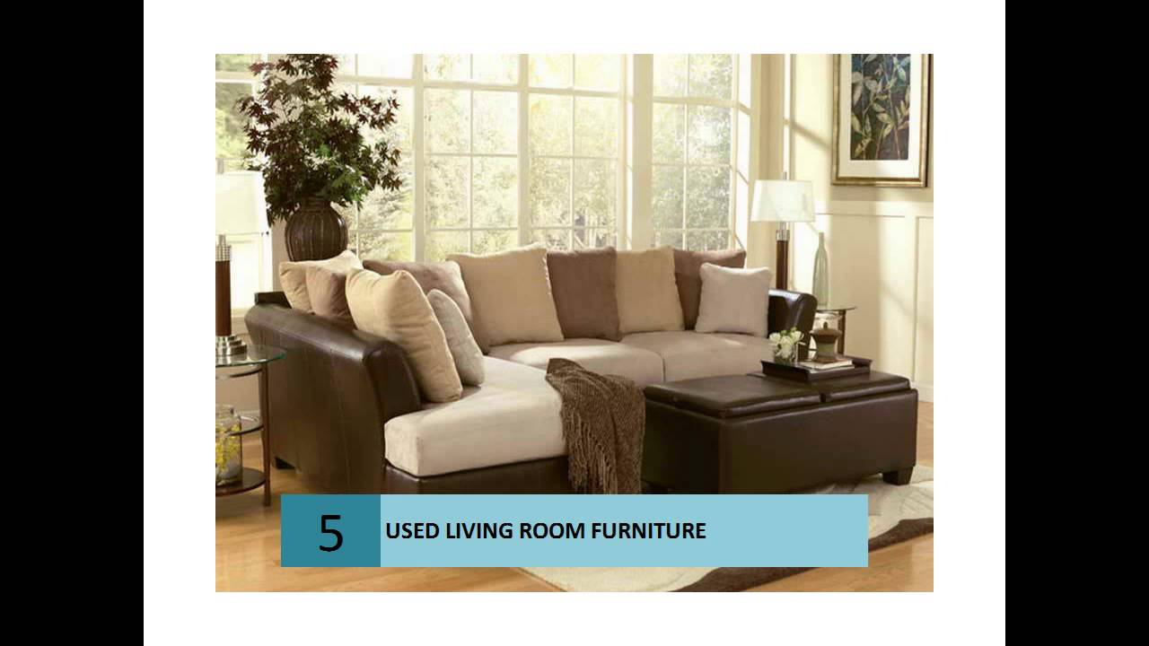Used Living Room Furniture for Cheap - YouTube