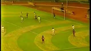 Gol Dejan Gluscevic (Pelita Jaya) ke Gawang Persib Liga 1
