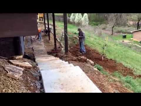 Stone Path Complete on Stringers Ridge Project