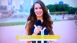 Ruth Diaz  REPORTAJE Cabios y Emociones  #MovimientoVidaMujer Telemundo
