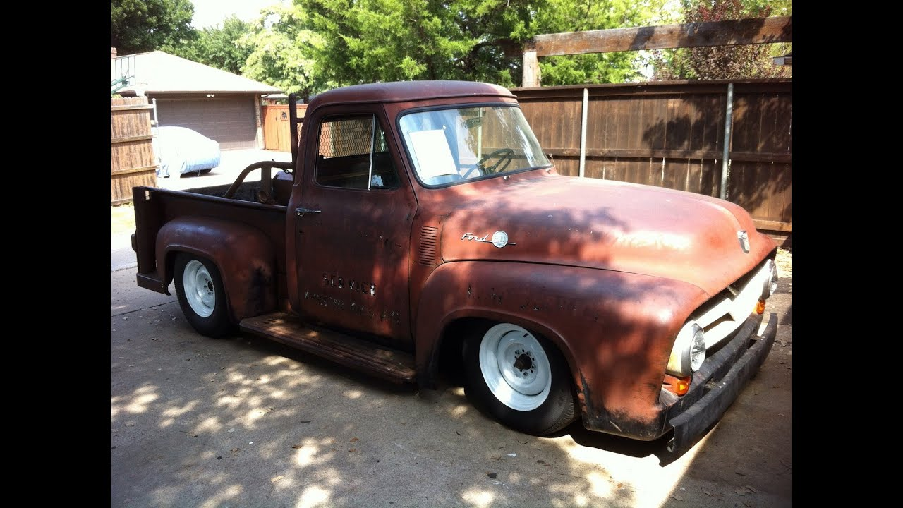 1955 F100 Chassis Swap Free Worksheets Library Download And Print Ford Suspension Ls1 First Start Youtube