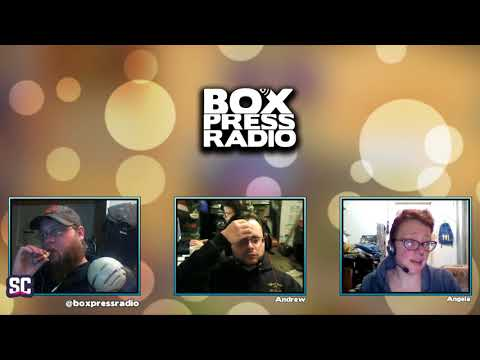 Box Press Radio Live Podcast Dec 29 2017