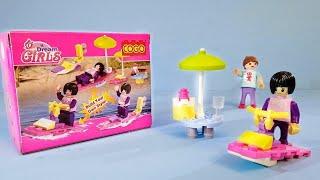 العاب ليجو موتوسيكل البحر : العاب بنات . العاب اطفال . lego toys for childrens