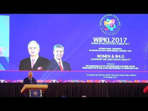 Najib proposes 30% quota for women senators