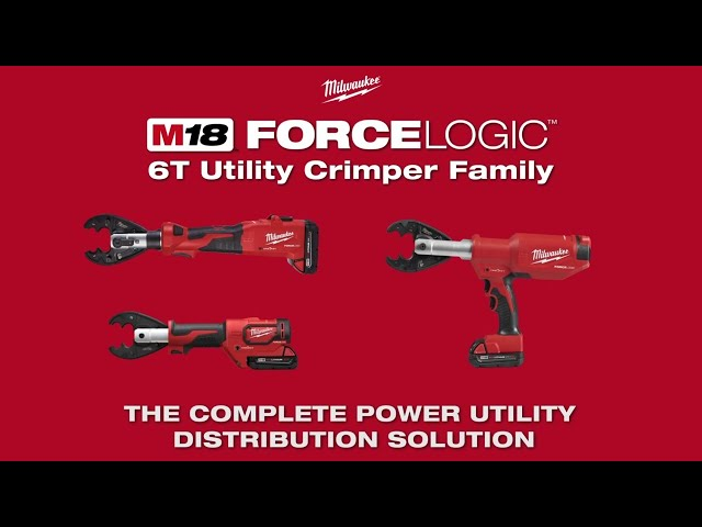 Milwaukee® M18™ FORCE LOGIC™ 6T Utility Crimpers