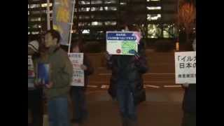 Activists Rally in Tokyo Against Dolphin Hunting in Japan January 2014