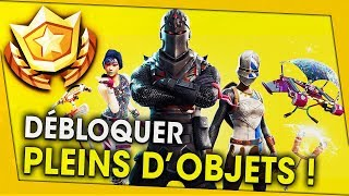 DÉBLOQUER PLEINS OF OBJETS WITH THE COMBAT PASSE! FORTNITE BATTLE ROYALE