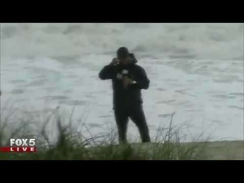 Hurricane Matthew: Sebastian Inlet, Fla. on Thursday