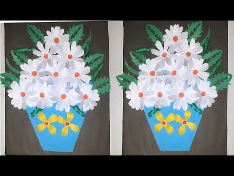 Diy Paper Craft Wall Hanging Paper Flower Wall Decoration Ideas