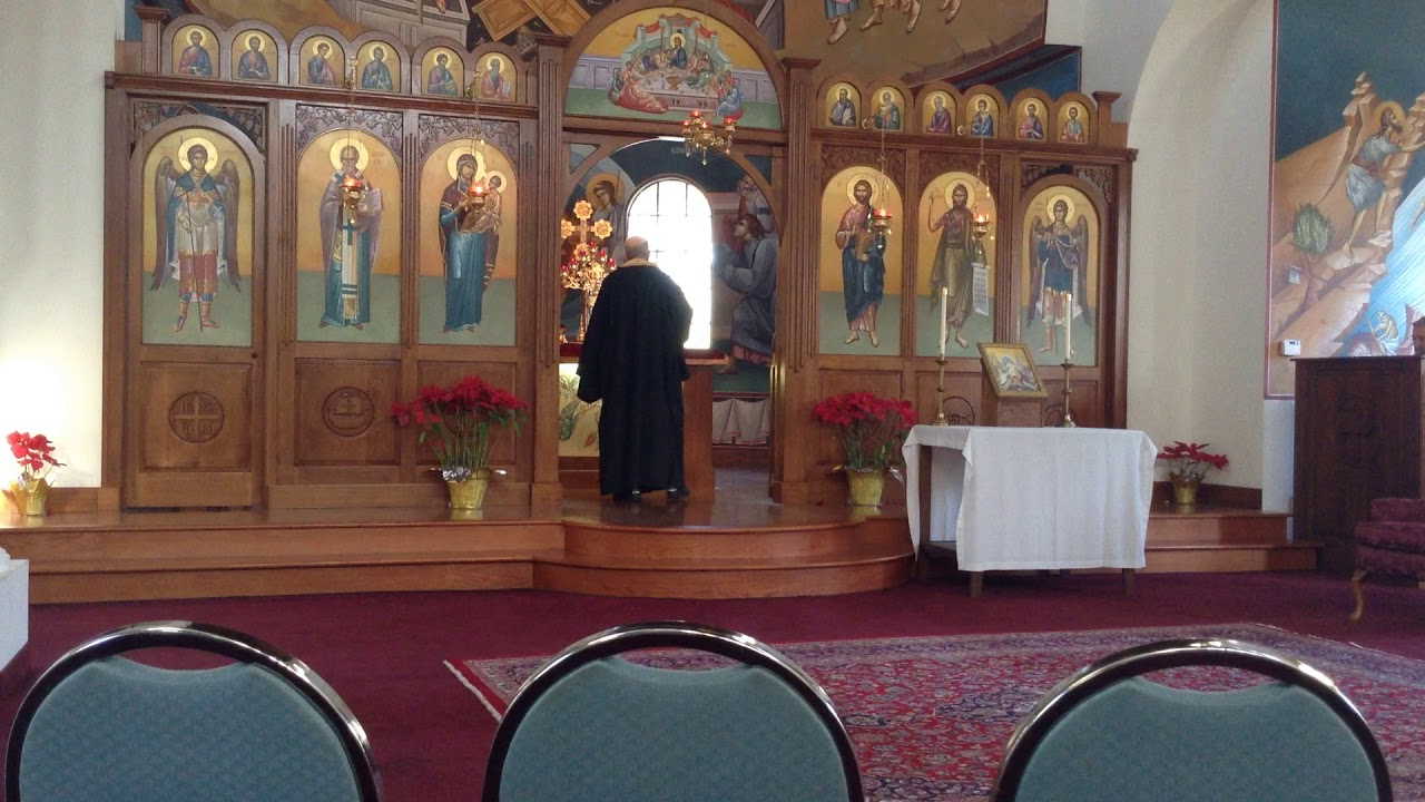 Vespers  service. St. Nicholas Antiochian Orthodox Church