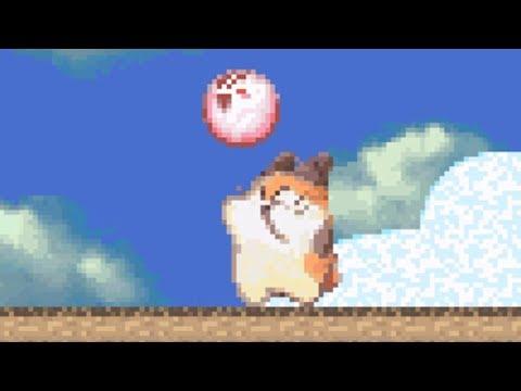 Kirby's Dream Land 3 - Level 4 Cloudy Park - No Damage 100% Walkthrough