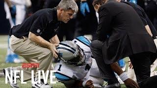 Adam Schefter agrees Panthers handled Cam Newton injury justly | NFL Live | ESPN