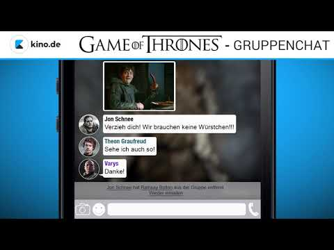 GAME OF THRONES - Gruppenchat