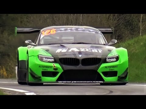 BMW Z4 GT3 4.4 V8 Monster // 600Hp NA Pure Rumbling Sound