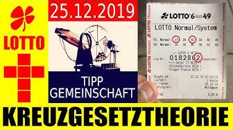 Lotto 6 aus 49 !!! Zahlen Vorhersage: Mittwoch 25.12.2019 ✅ TREFFER ✅