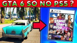 GTA 6 EXCLUSIVO de PS5? SAIBA TUDO! (Versão PS5 Opinião)
