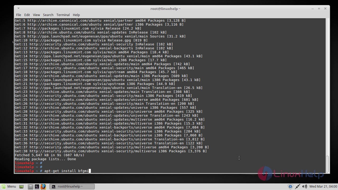 bitcoin mining linux mint