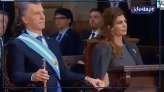 El mal momento de Macri en el Tedeum thumbnail