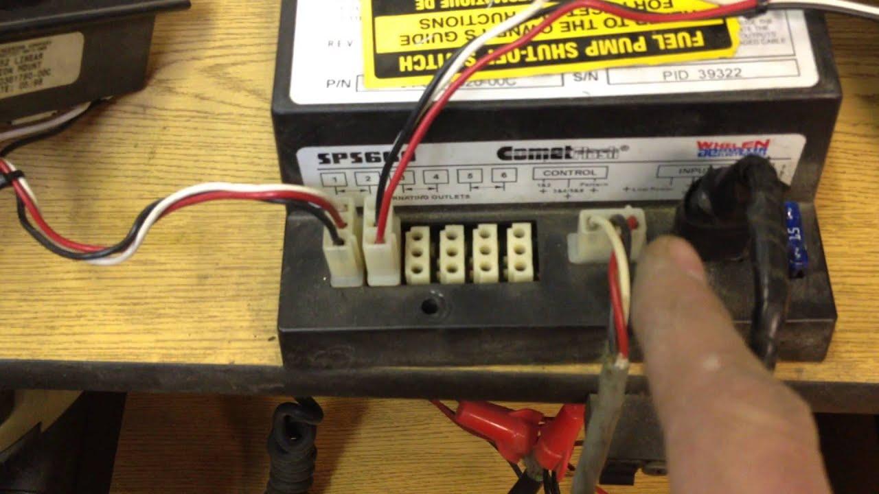 Whelen 9m Light Bar Wire Diagram Human Integumentary System Csp690 Wiring Great Installation Of Sps 660 Cometflash Strobe Power Supply Test Rh Youtube Com Edge