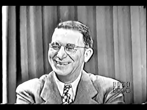 What's My Line?  Senator Estes Kefauver Mar 18, 1951