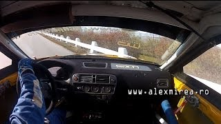 Honda Civic EK4 B16B [Onboard  + BIG Crash] - Hillclimb