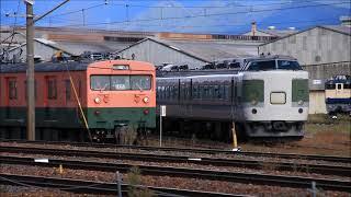 215系NL-1編成が廃車置場へ移動(2号車から10号車のみ)