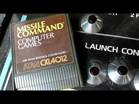 Classic Game Room - MISSILE COMMAND review for Atari Computers