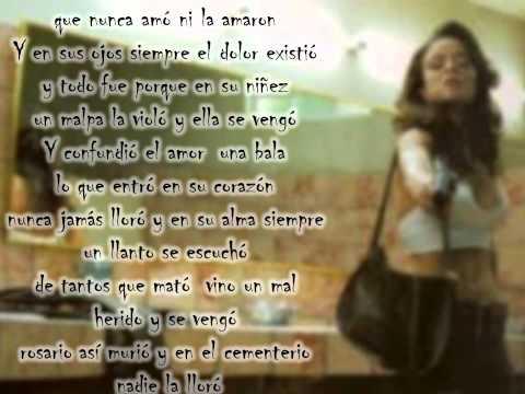 rosario tijeras- Juanes (letra)