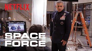 Space Force | Steve Carell Returns to TV Comedy | Netflix Is A Joke