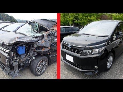 Выбор и покупка Toyota Noah(Voxy) в России. Битье и топляки на рынке