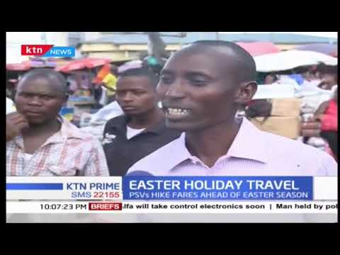 Bus fares hike ahead of Easter Holidays, fuel prices hike also a factor