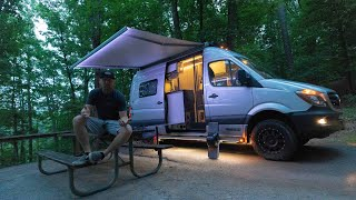 Campground Living | First time plugged in...