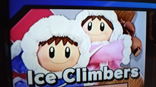New) Ice climbers classic mode run at 0.0 Intensity in Super Smash Bros Ultimate for Nintendo Switch