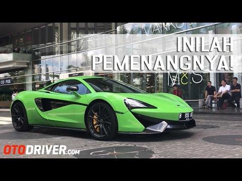 Inilah 5 Pemenang Taxi Ride McLaren 570S   OtoDriver Experience