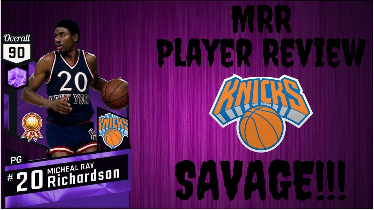 NBA2k17 Micheal Ray Richardson Player Review SAVAGE