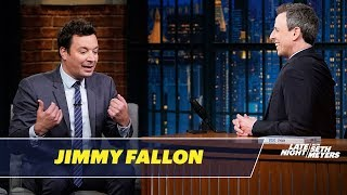 Jimmy Fallon and Seth Talk About SNL's Famous Parties