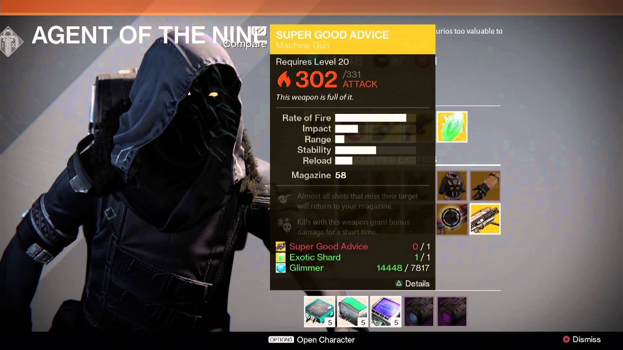 Destiny Xur Location and Items for 12/26/14
