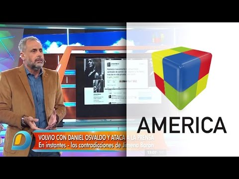El duro editorial de Jorge Rial contra Jimena Barón y Daniel Osvaldo