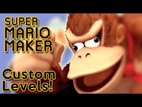JUNGLE FEVER!    Super Mario Maker (Online Level Madness!)  