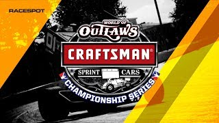 World of Outlaws Craftsman Sprint Cars Championship Series | Round 12 | Dirt Track at Charlotte