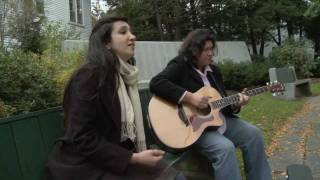 Zeb And Haniya In The Park Singing Live Bibi Sanam Musicature