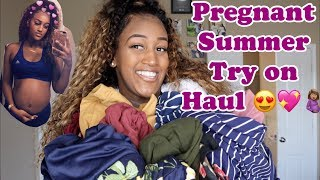 SUMMER TRY ON HAUL (PREGNANCY EDITION)